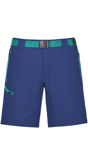 Ortovox W's Merino Shield Brenta Short Strong Blue